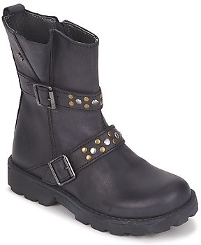 Naturino girls's Mid Boots in Black