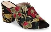 Sole Society Women's Luella Flower Embroidered Slide