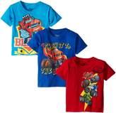 Nickelodeon Little Boys' Blaze Short Sleeve Tee Shirts