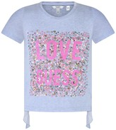 GUESS Lilac Sequin Love Top