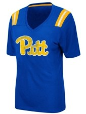 Colosseum Women's Pittsburgh Panthers Rock Paper Scissors T-Shirt