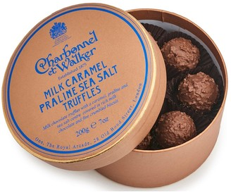 Charbonnel et Walker Milk Sea Salt Caramel Praline Truffles 200G