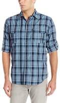 G.H. Bass Men's Long Sleeve Explorer Plaid Shirt