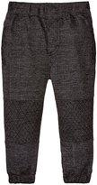 Kapital K Knit Denim Jogger Pants (Baby) - Black - 18 Months