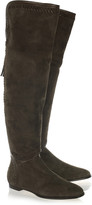 Jimmy Choo Duncan suede over-the-knee boots