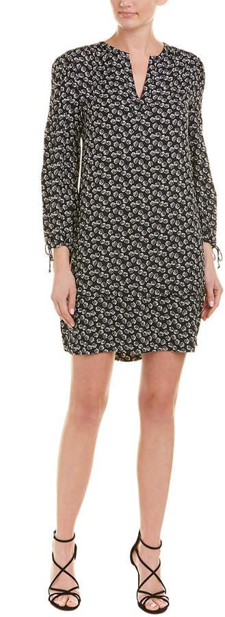 Rebecca Taylor Floral Silk Shift Dress