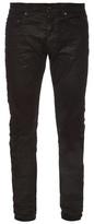 Saint Laurent Waxed Skinny Jeans