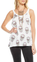 Chaser Candy Skull Tank