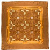 Hermes Printed Silk Scarf
