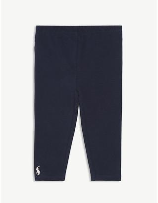 Ralph Lauren Logo cotton leggings 3-24 months