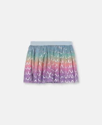 Stella Mccartney Kids Stella McCartney multicolour tie&dye tulle skirt