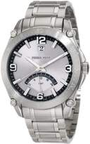 Pierre Petit Men's P-806C Serie Le Mans Stainless-Steel Dual-Time GMT Sunray Dial Watch