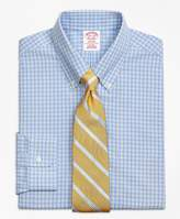 Brooks Brothers Madison Classic-Fit Dress Shirt, Non-Iron Twin Gingham