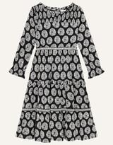 Thumbnail for your product : Monsoon MINI ME Ella Circle Print Dress Black