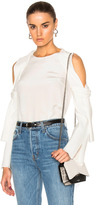 3.1 Phillip Lim Cold Shoulder Top