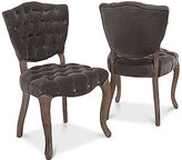 Lorman Set of 2 Dining Chairs, Direct Ship