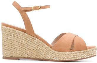 Stuart Weitzman Mid Wedge Heel Sandals