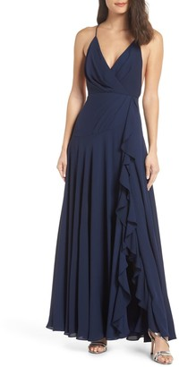 Fame & Partners The Naya Ruffle Gown