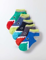 Boden 5 Pack Terry Trainer Socks