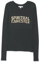 Spiritual Gangster Women's Varsity Apres Foiled Tee