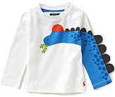 Joules Baby/Little Boys 12 Months-3T Zany Novelty Dinosaur Top