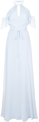 Marchesa Notte Bridesmaids Cold Shoulder Bridesmaid Gown
