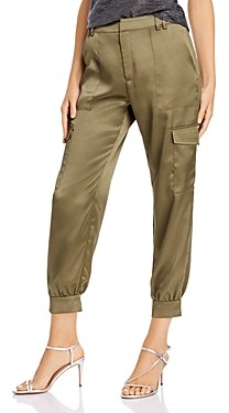 Aqua Satin Cargo Jogger Pants - 100% Exclusive