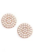 Nadri Women's 'Geo' Stud Earrings