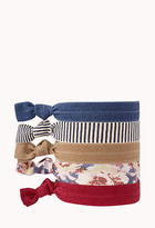 Forever 21 Striped Hair Tie Set
