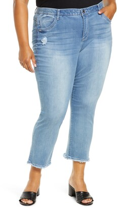 Wit & Wisdom Ab-Solution High Waist Crop Slim Jeans