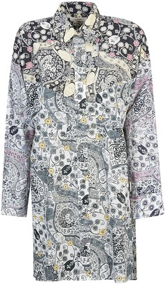 Etoile Isabel Marant Abstract Print Dress