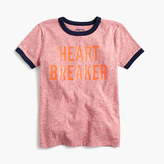 "J.Crew Boys' ""heartbreaker"" T-shirt in the softest jersey"