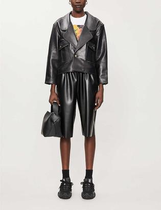 Sandro Shanny leather jacket