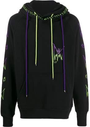 Burton MJB Marc Jacques contrast stitched hoodie