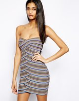 Forever Unique Selfish By Bandage Dress - Multi