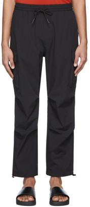 Saturdays NYC Black Chad Jogger Cargo Pants