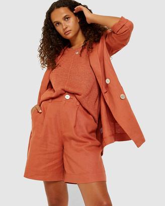 Jag Sarisha Linen Jacket