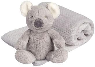 The Little Linen Company Plush Toy & Blanket - Cheeky Koala
