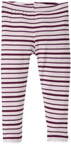 Kickee Pants Scallop Leggings (Baby) - Animal Stripe - 12-18 Months