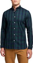 Scotch & Soda Men's BB Check Regular-Fit Sport Shirt