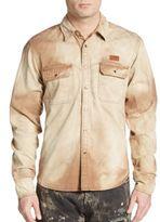 PRPS Chameleon Tie-Dye Cotton Sportshirt