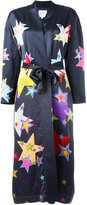 Mira Mikati star print robe - women - Acetate/Cupro/Viscose - 34