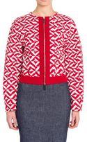 Giorgio Armani Long Sleeve Jersey Jacket