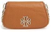 Tory Burch 'Mini Britten' Leather Crossbody Bag
