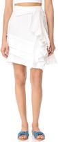 McGuire Denim Lupolo Ruffle Skirt