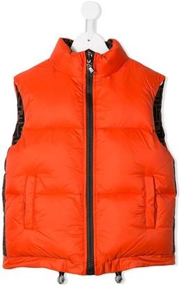 Fendi Kids Reversible Padded Vest