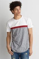 American Eagle Outfitters AE Flex Short Sleeve Chest Stripe T-Shirt