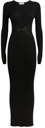 Gabriela Hearst Ribbed Knitted Dress