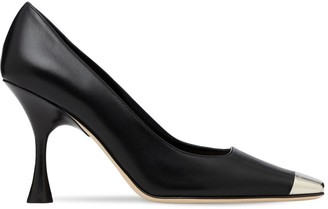 Sergio Rossi 90mm Leather Pumps