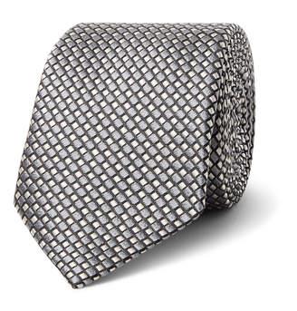 Giorgio Armani 7cm Silk-Jacquard Tie